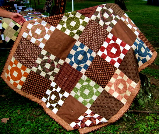 Tennessee Quiltworks at Battle of Blountville Reenactment